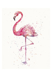 A Flamingo's Fancy Plakater af Sillier than Sally