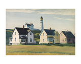 Lighthouse Village (also known as Cape Elizabeth), 1929 Posters par Edward Hopper