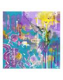 A Hummingbird's Folly Prints by  Sillier than Sally