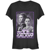 Juniors: Star Wars: The Force Awakens- Girls Rule Chrome T-shirts