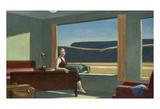 Western Motel, 1957 Plakater af Edward Hopper