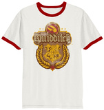 Harry Potter- Distressed Quidditch Poster Ringer - T-shirt
