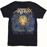 Anthrax- For All Kings Cover T-shirts