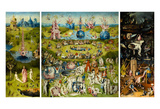 The Garden of Earthly Delights, 1490-1510 Posters av Hieronymus Bosch