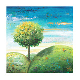 Cute Tree II Prints by Patricia Pinto