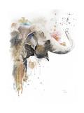 Water Elephant Kunstdruck von Patricia Pinto