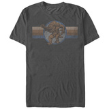 Star Wars- Distressed Rancor Button T-Shirt