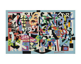 The Mellow Pad, 1945-1951 Prints by Stuart Davis