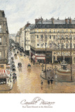 Rue Saint-Honoré in the Afternoon. Effect of Rain, 1897 Prints by Camille Pissarro