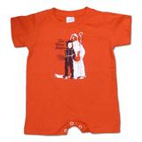 Toddler: The White Stripes- Krampus Onesie Vêtements