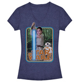 Juniors: Star Wars: The Force Awakens- Force Ready Rey T-Shirt