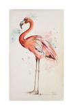 Flamingo I Prints by Patricia Pinto