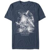Star Wars: The Force Awakens- Black & White Poster T-shirts
