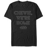 Star Wars: The Force Awakens- Chewie We're Home T-shirts