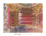 The Opera, Paris, early 1930's Posters por Raoul Dufy