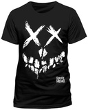 Suicide Squad- Lights Out Smile (Slim Fit) T-skjorter
