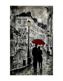 Rainy Promenade Prints by Loui Jover