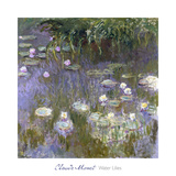 Water Lilies, 1922 Posters by Claude Monet