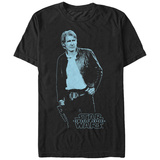 Star Wars: The Force Awakens- Blue Han T-Shirt