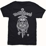 Motorhead- Hiro Dagger Crest T-Shirt