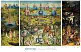 The Garden of Earthly Delights, 1490-1510 Posters af Hieronymus Bosch