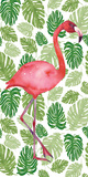 Tropical Flamingo I Prints by Wild Apple Portfolio