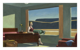 Edward Hopper - Western Motel, 1957 - Tablo