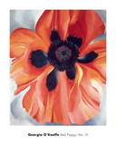 Red Poppy, No. VI, 1928 Prints by Georgia O'Keeffe