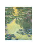 Waterlilies, 1907 Posters by Claude Monet