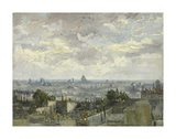 View of Paris, 1886 Prints by Vincent van Gogh