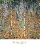 Birch Forest, 1903 Lámina por Gustav Klimt