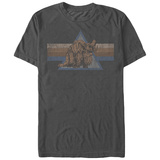 Star Wars- Distressed Bantha Button T-shirts