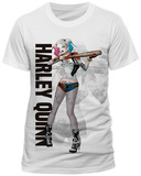 Suicide Squad- Harley Quinn Trigger Happy (Slim Fit) T-Shirts