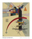 Small Yellow, 1926 Posters by Wassily Kandinsky