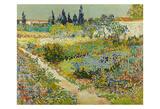 Garden at Arles, 1888 Art by Vincent van Gogh