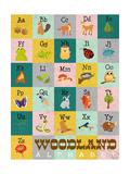 Woodland Alphabet Posters by  Josefina