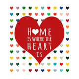 Home Is Where Prints by Shelley Lake