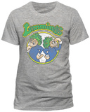 Lemmings- Distressed Game Badge (Slim Fit) T-shirts