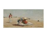 East Hampton Beach, Long Island, 1874 Poster by Winslow Homer