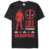 Marvel-Deadpool- Deadpool Classic Since 91 Shirts