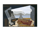 The Open Window, 1921 Posters por Juan Gris