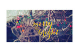 Merry Light Bright Print by Kelly Poynter