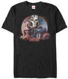Marvel-Captain America: Civil War- Crossbones In The Shadows T-shirts