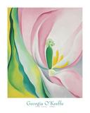Pink Tulip, 1926 Print by Georgia O'Keeffe