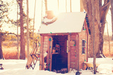 Santa's Workshop Photographic Print by Kelly Poynter