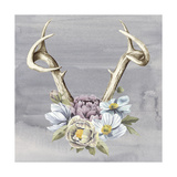 Antlers & Flowers I Posters by Grace Popp