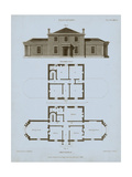 Chambray House & Plan I Prints by Thomas Kelly