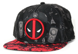 Deadpool- Allover Print Snapback キャップ