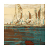 Calm Waters Square II Prints by  Kingsley