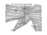 The Uncle Vinnie Insomnia Open Man plays golf in the middle of the night. - New Yorker Cartoon Premium Giclee Print by Michael Crawford